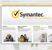 symantec.com screenshot