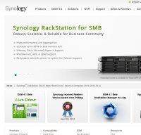 synology.com screenshot