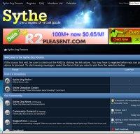 sythe.org screenshot