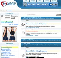 t-shirtforums.com screenshot