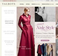 talbots.com screenshot
