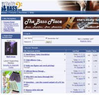 talkbass.com screenshot