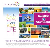 talkfusion.com screenshot