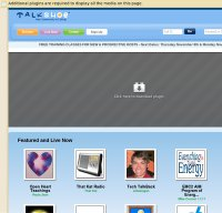 talkshoe.com screenshot