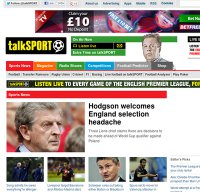 talksport.co.uk screenshot