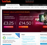 talktalk.co.uk screenshot