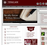 tamu.edu screenshot