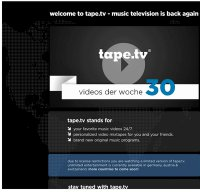 tape.tv screenshot