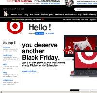 target.com screenshot