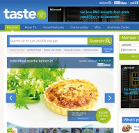 taste.com.au screenshot