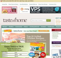 tasteofhome.com screenshot