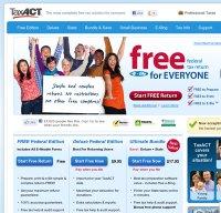 taxact.com screenshot