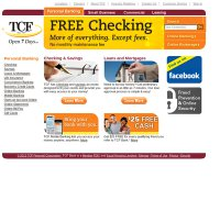tcfbank.com screenshot