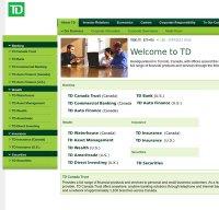 td.com screenshot