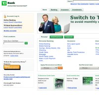 tdbank.com screenshot