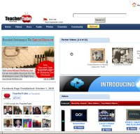 teachertube.com screenshot