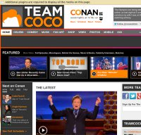 teamcoco.com screenshot