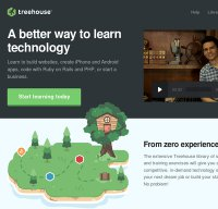 teamtreehouse.com screenshot