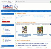 techbargains.com screenshot