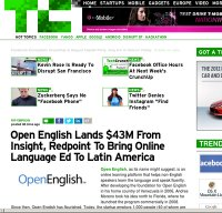 techcrunch.com screenshot