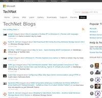 technet.com screenshot