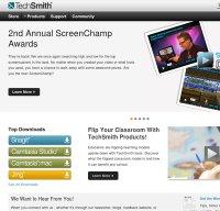 techsmith.com screenshot