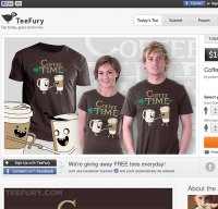 teefury.com screenshot