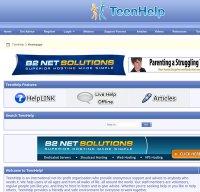 teenhelp.org screenshot