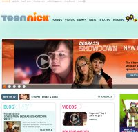 teennick.com screenshot