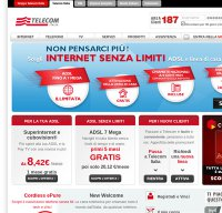telecomitalia.it screenshot