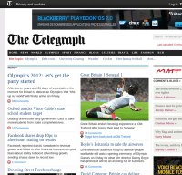 telegraph.co.uk screenshot