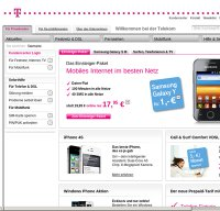 telekom.de screenshot