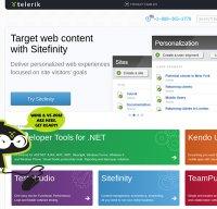 telerik.com screenshot