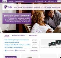 telia.se screenshot
