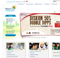 telkom.co.id screenshot