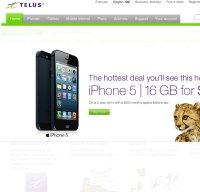 telusmobility.com screenshot