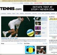 tennis.com screenshot