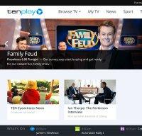 tenplay.com.au screenshot