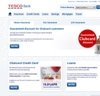 tescobank.com screenshot