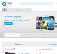 tescomobile.com screenshot