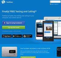 textnow.com screenshot