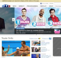 tf1.fr screenshot
