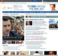 theage.com.au screenshot