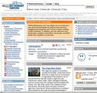 thefreedictionary.com screenshot