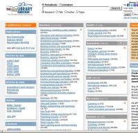 thefreelibrary.com screenshot