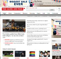 theglobeandmail.com screenshot