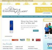 thekrazycouponlady.com screenshot