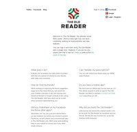 theoldreader.com screenshot