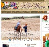thepioneerwoman.com screenshot