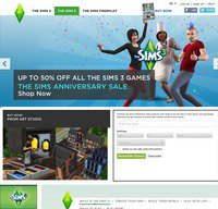 thesims.com screenshot